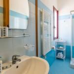 Bagno grande in appartamento vacanze a Milano Marittima
