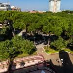 Vista dall'attico del Crystal Palace Milano Marittima