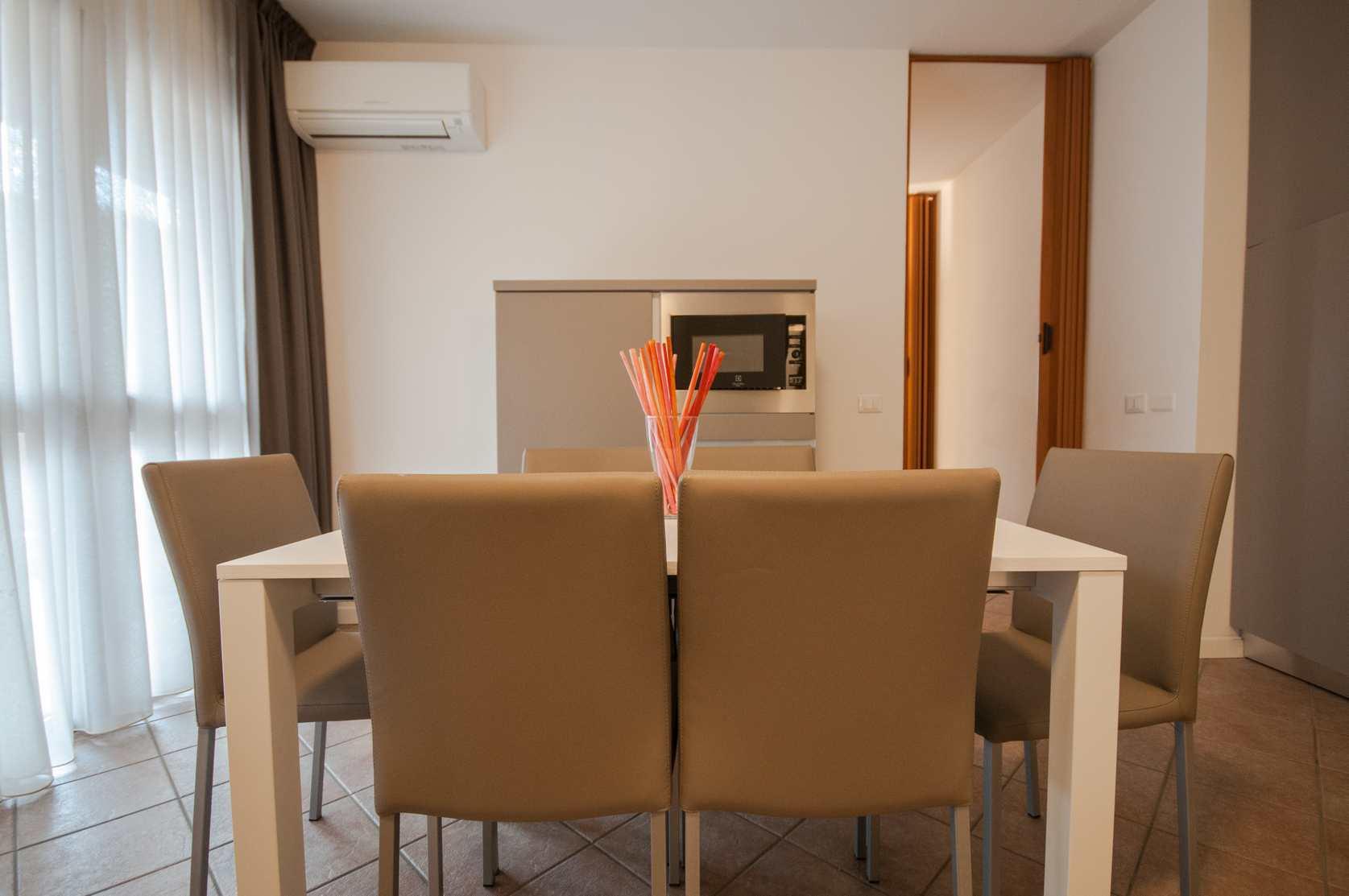 Foto Sala da Pranzo - Residence Vacanze Milano Marittima - Appartamento Vacanze - Trilocale
