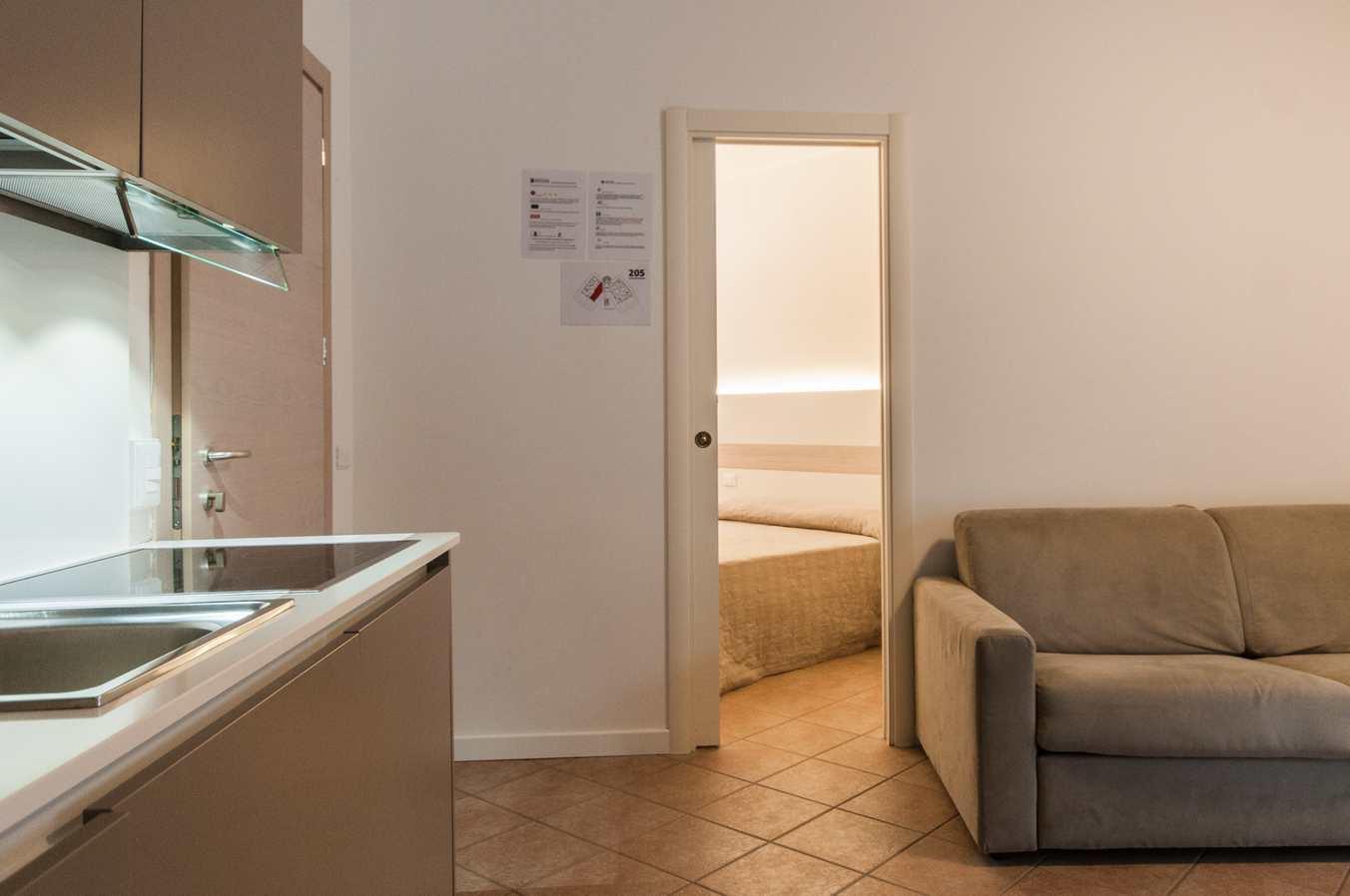 Foto Area Cucina - Residence Vacanze Milano Marittima - Appartamento Vacanze - Trilocale 205