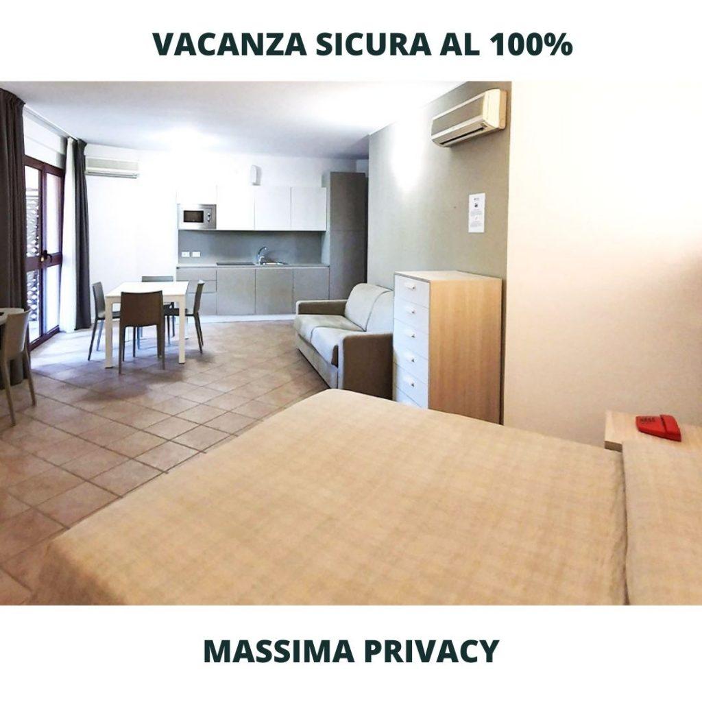 Vacanza sicura in appartamento in Romagna Crystal Palace